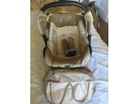 Baby carrier / car seat.