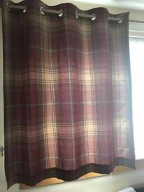 Fully lined curtains (eyelet)