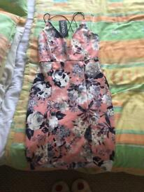Boo hoo mini dress size 6.