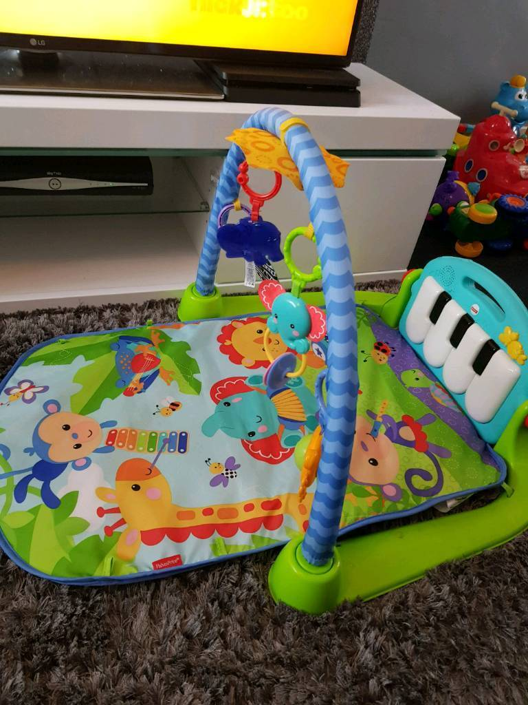 Fisher Price Kick Play Piano Gym In Hurlford East Ayrshire