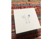 Genuine Apple AirPods 2nd Generation with charging case NEW AND SEALED