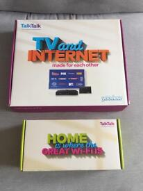 TalkTalk Youview Box and Wi-Fi Router