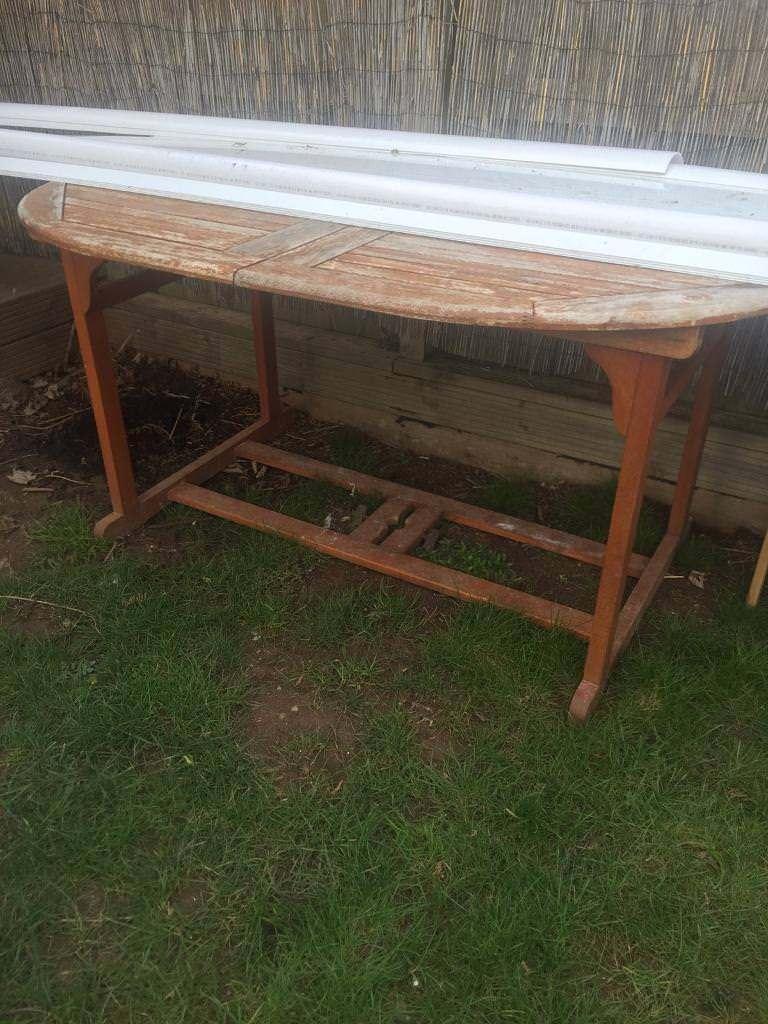 Wooden garden table extends | in Exeter, Devon | Gumtree