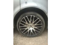 "20"" alloys fit vw bmw Range Rover etc"
