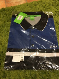 mens xxl boss polo top