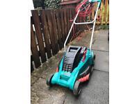 Bosch rotak 43 ergoflex 1800w lawn mower.