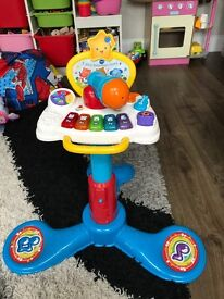 VTECH microphone stand