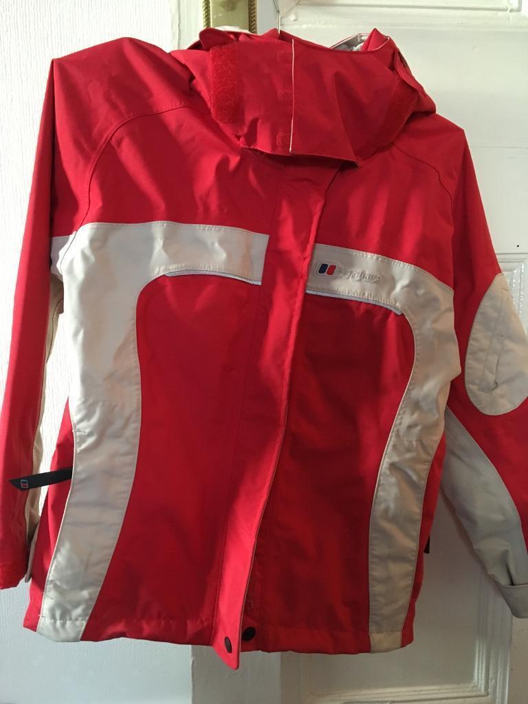 New Berghaus waterproof jacket 7-8yrs