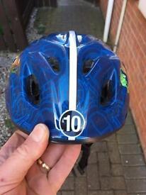 Ben 10 kids bike helmet