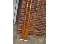A pair of Wooden Oars