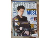 Guitarist magazines with accompanying CDs