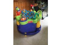 Baby spin play station