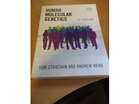 Human Molecular Genetics 4th edn textbook Tom Strachan and Andrew Read worth £50 on amazon
