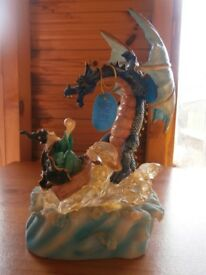 Wizard with dragon Ornament