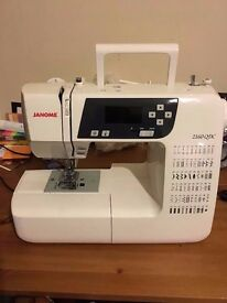Janome 2160QDC sewing machine + accessories