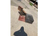 Army storage boxes