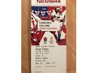 London Sevens- 2 x tickets- Saturday 2nd June