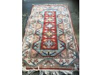 Soft woolen Caucasian Rug, just washed (Reduced price)
