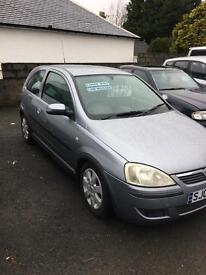 vauxhall corsa for sale 60 reg (kilmarnock)10 month mot sxi model alloys service very clean