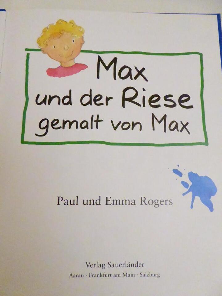 Max und der Riese - gemalt von Max, ab 3 Jahre in Niedersachsen - Verden