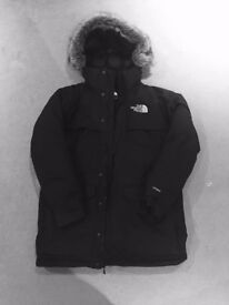 The North Face Men's McMurdo Black Parka Jacket (Large)