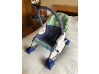 Fisher Price Smart Stages 3 in 1 Rocker Swing. Good condition