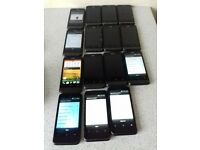 Job Lot 15 x HTC One V Smartphones Working/Faulty