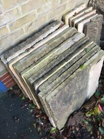 Paving Slabs for Patio or Pathway or Foundation