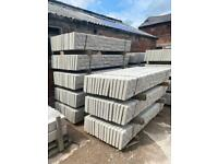 ⭐️ CONCRETE REINFORCED 6X1 FENCING GRAVEL BOARDS/ BASE PANELS - NEW
