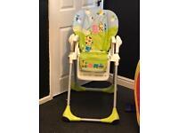 Children's adjustable high chair