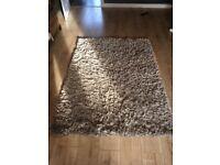 Mink colour rug