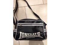 Black Lonsdale bag