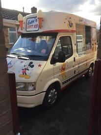 Ford Transit Ice Cream Van 8 lid freezer, chiller