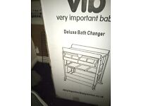 V.i.b deluxe bath and changing unit.