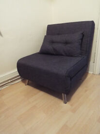 Single Convertible Chair Bed