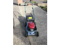 Honda petrol lawn mower good working order just had a full service