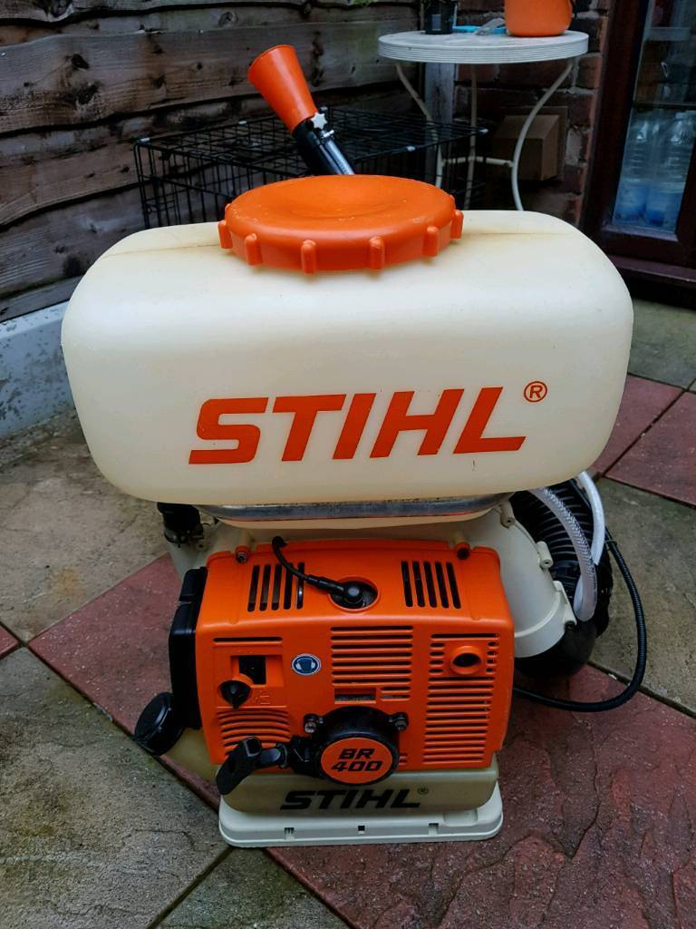 stihl sr400,br400 backpack leaf,mist blower,sprayer in excellent  condition,sr450 | in Levenshulme, Manchester | Gumtree