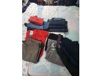 Bundle of ladies jeans and trousers - size 14