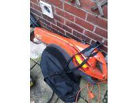 Flymo garden vac / blower anf ryobi petrol strimmer