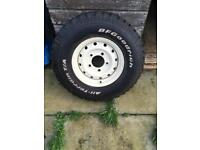 WANTED 235 85 r16 BF Goodrich All Terrain Tyre
