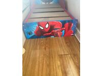 Spider-Man bed without mattress