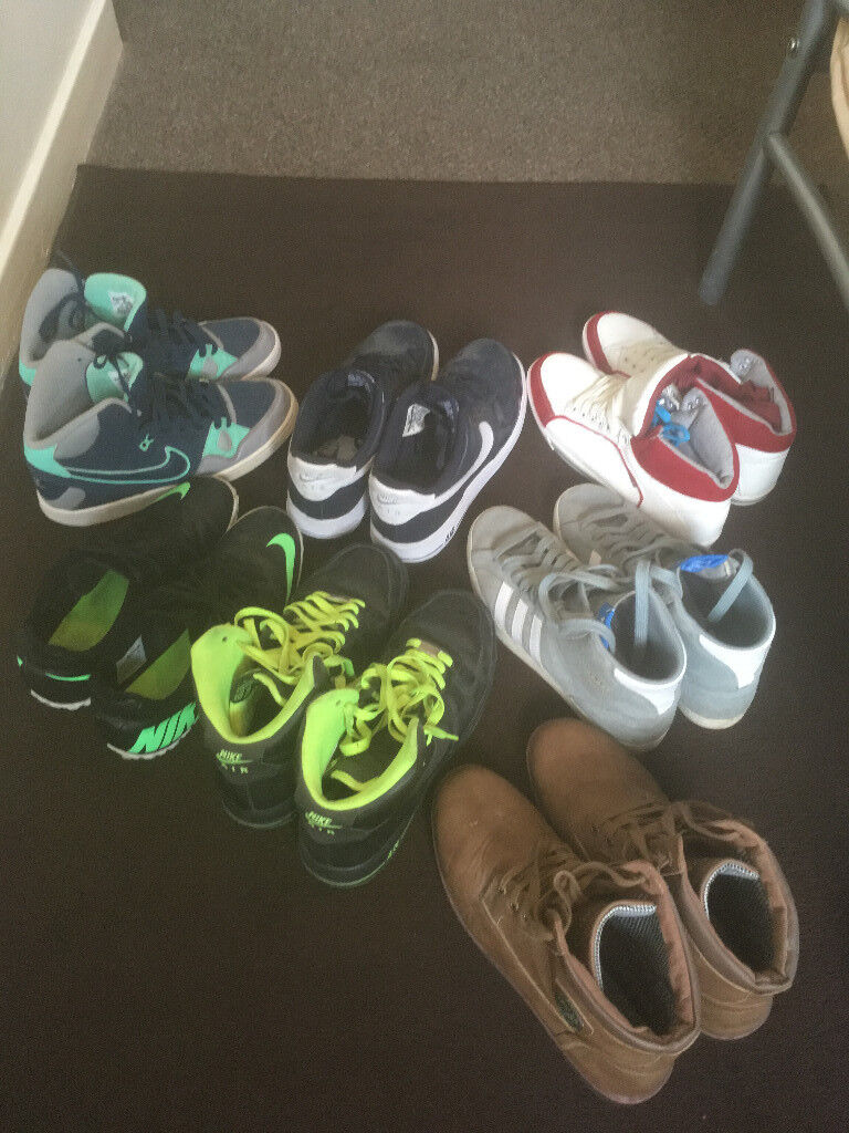 Nike,Adidas,Crosshatch Trainers Size 8