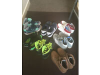 Nike,Adidas,Crosshatch Trainers Size 8