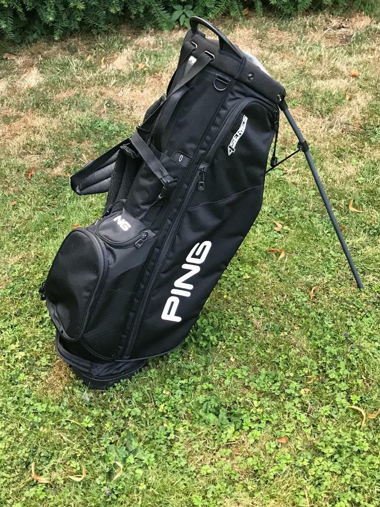 e5db514ed1 Ping 4 series golf stand carry bag