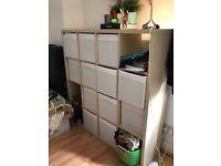 IKEA library/storage/shelfs white
