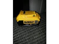 Dewalt 18v 4amp batteries new