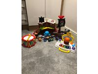 VTech pirate ship / sit to stand music centre & drum