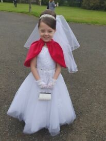 First Holy Communion Dress Age 7 for sale