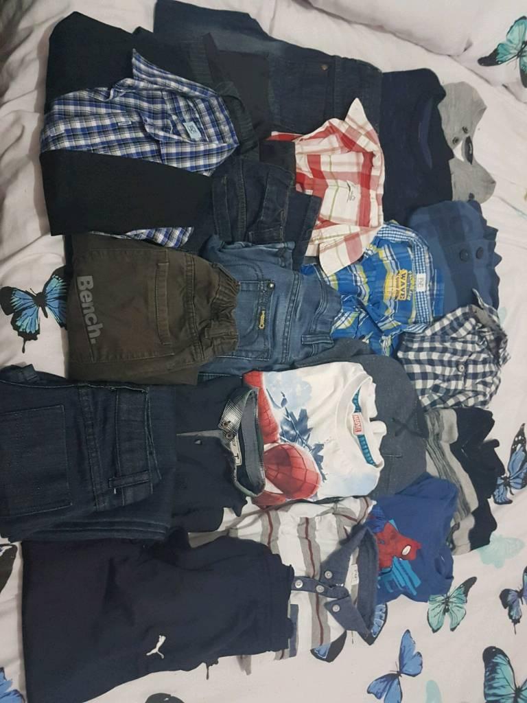 boys large clothes bundle