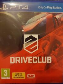 Driveclub drive club ps4 play station 4